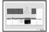 cucina lineare noemi