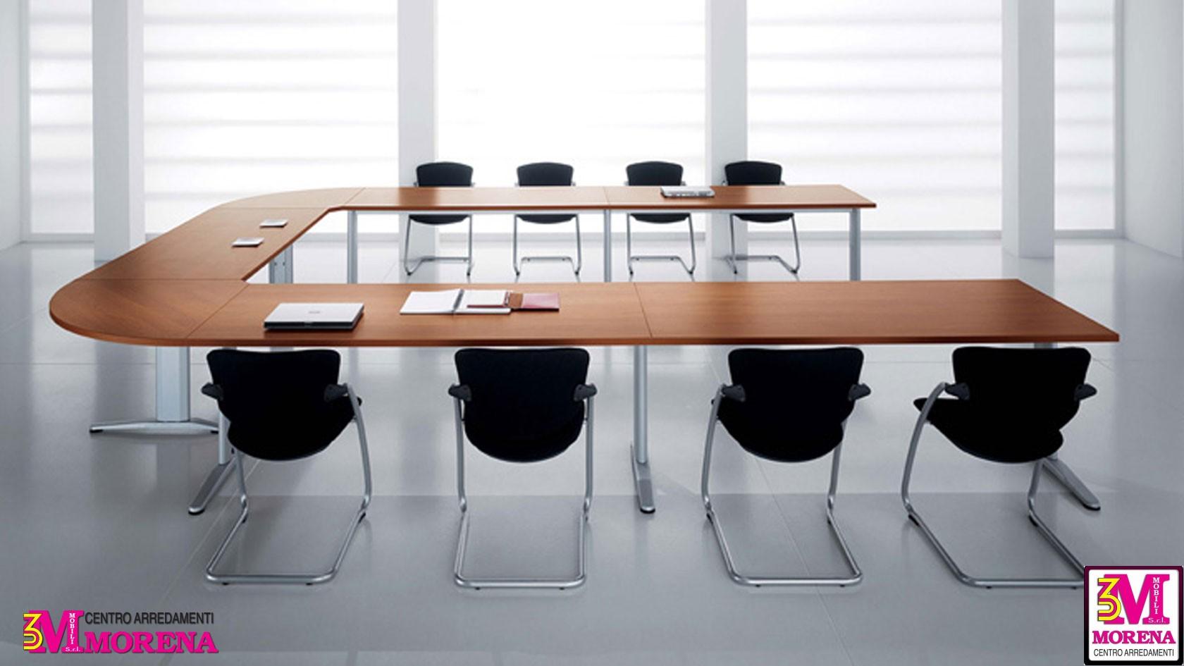 Tavolo riunione meeting uni angolare - Tavolo angolare ...