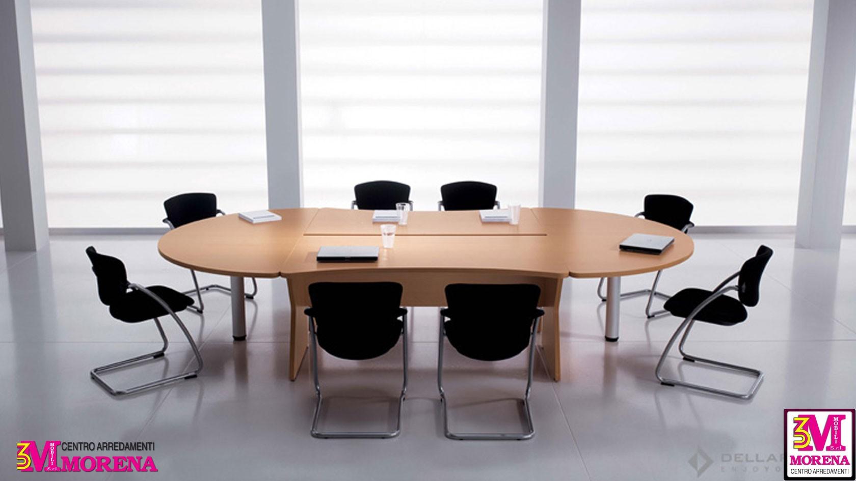 Tavolo riunionemeeting uni ovale - Tavolo riunioni ovale ikea ...